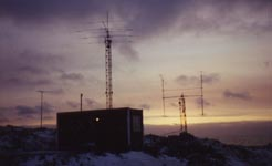 Antennas 1992, before they smashed into the ground