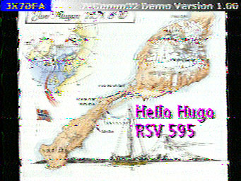 SSTV received by ON7GB